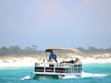 panama-city-beach-pontoon-boat-rental-shell-island