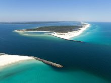shell-island-panama-city-beach-aerial-view