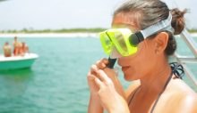 snorkel-trip-panama-city-beach-shell-island